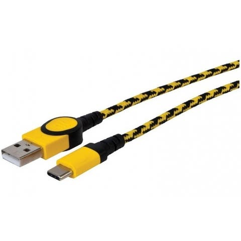 Stanley 131 9596 ST2 USB Charge & Sync Cable, Black/Yellow, 6' L