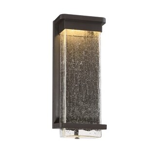 Modern Forms WS-W32516 Vitrine 1 Light LED Indoor / Outdoor Lantern Wall Sconce - 6.5 Inches Wide