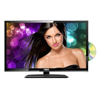 "19"" Naxa NTD-1955 LED 12 Volt AC/DC Widescreen 720p HD Digital TV w/DVD"