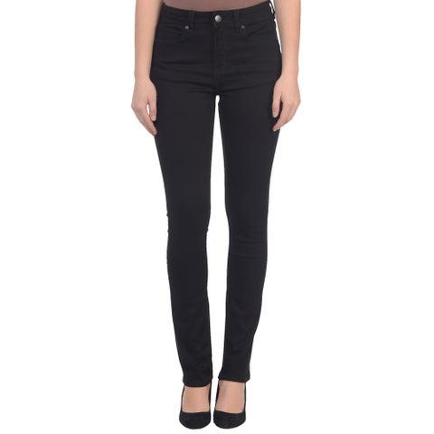 Lola Kate-BLK, High Rise straight leg with 4-way stretch
