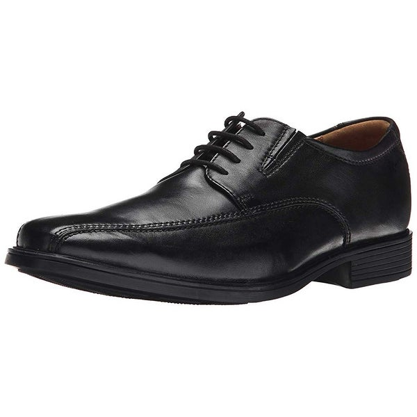 fa95a003 Shop Clarks Men's Tilden Walk, Black Leather, 10 M Us - Free ...