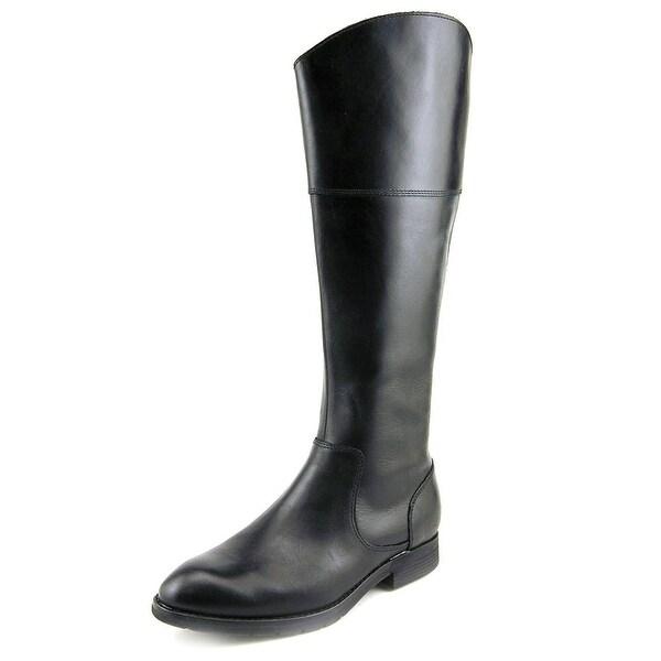 Sebago Nashoba Rider Round Toe Leather Knee High Boot