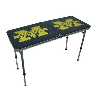 University of Michigan Wolverines Folding Aluminum Tailgate Table