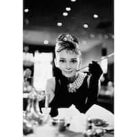 ''Audrey Hepburn, Breakfast at Tiffany's'' by Anon Movie & TV Posters Art Print (36 x 24 in.)