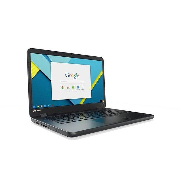 "Lenovo 80Us0002us Celeron N3060 1.60 Ghz 4Gb 32Gb Ssd 14"" Chromebook"