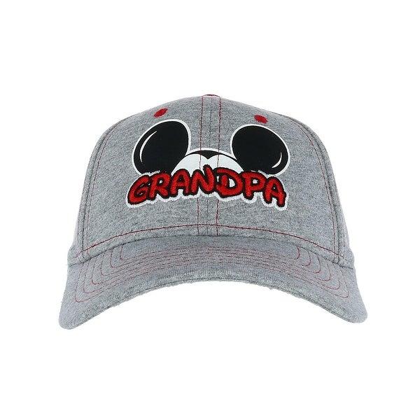 499a4017103aec Shop Disney Men's Mickey Mouse Grandpa Fan Baseball Cap - Free ...