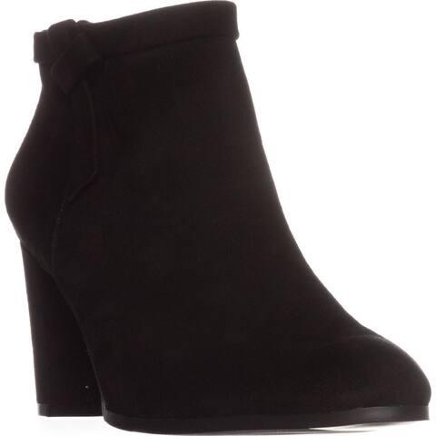 Bandolino Belluna Ankle Boots, Black Suede