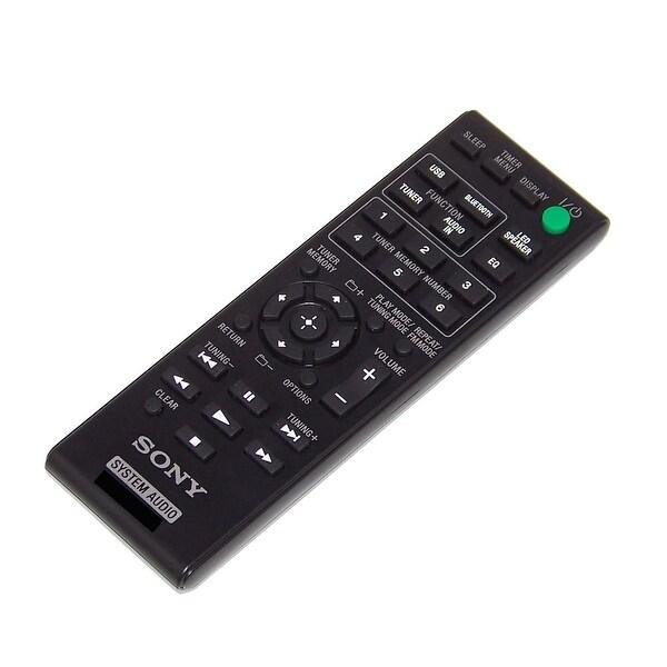 OEM Sony Remote Control Originally Shipped With: GTKN1BT, GTK-N1BT