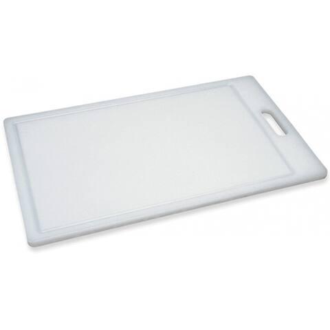 Progressive PCB-1812 Polyethylene Cutting Board, Large, White