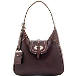 Dooney & Bourke Florentine Toscana Small Hobo (Introduced by Dooney & Bourke at $398 in Sep 2016) - Espresso