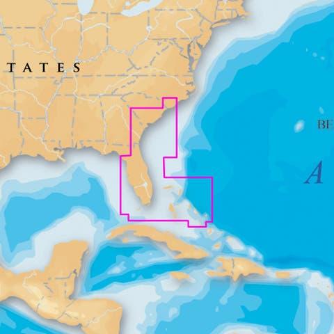 Navionics platinum plus southeast-bahamas msd/906p+
