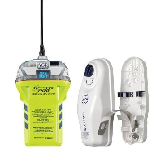 ACR Electronics Globalfix iPRO 406 MHz GPS EPIRB GlobalFix iPro 406 EPIRB Category I - Multicolor
