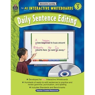 Interactive Learning: Daily Sentence Editing - Grade 3