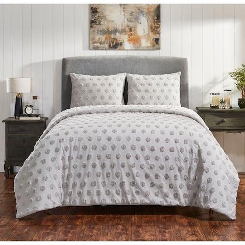 Fabstyles Venice Chenille 3 Piece Comforter Set