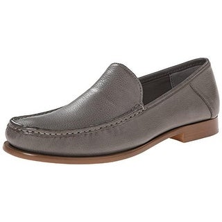 Calvin Klein Mens Danby Leather Slip On Loafers