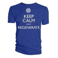 Keep Calm Don't Regenerate Mens Shirt