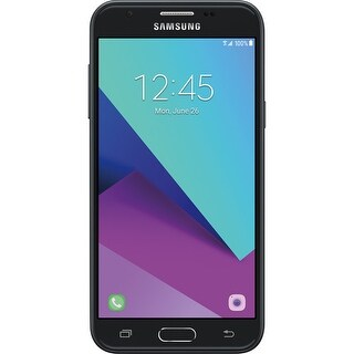 Samsung Galaxy J3 Single Sim / SM-J327U Black Smartphone