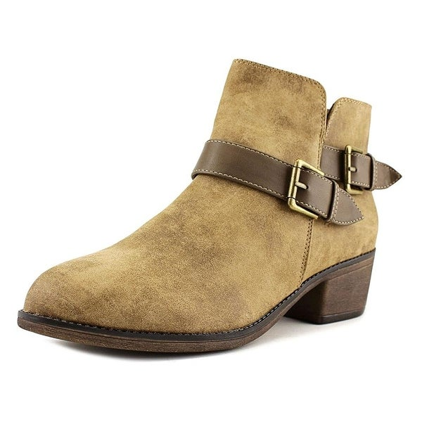 Seven Dials Yosepha Women Round Toe Suede Gray Ankle Boot - 6.5