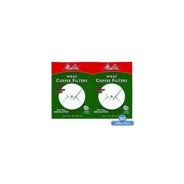shop melitta 627402 percolator coffee filters wrap around 80 counts ...