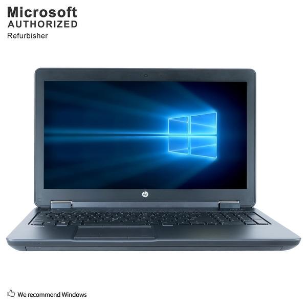 """HP Zbook 15 15.6"""", Intel Core i7 4800MQ 2.70GHz, 8GB RAM, 240GB SSD, DVD, WIN10P64(EN/ES)-Refurbished"""
