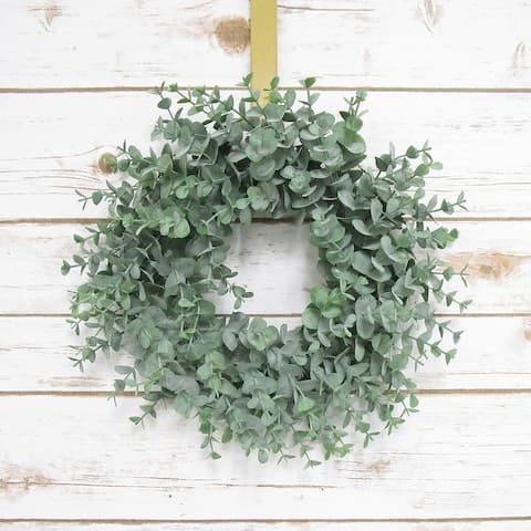 Eucalyptus Young Wreath 12in