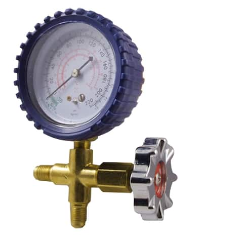 Single Manifold Gauge Brass Valve for Air Condition NEW