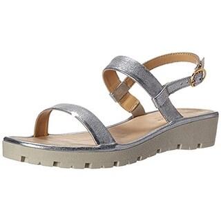 The Flexx Womens Sun Tan Flat Sandals Leather - 9.5 medium (b,m)
