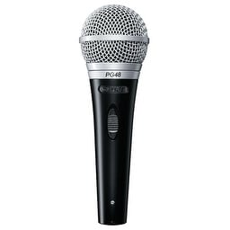 Cardioid Dynamic Vocal Microphone XLR QTR Cable