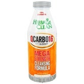 B.N.G. Herbal Clean Qcarbo Liquid Orange 16-ounce