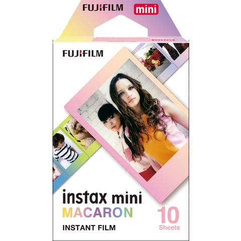 Fujifilm Instax Mini Macaron Frame 1 Movie Color Instant Film (10 Sheets)