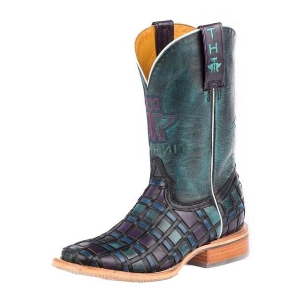 Tin Haul Western Boot Women Entwined Multi