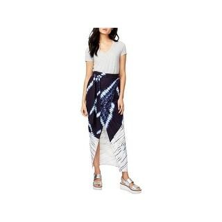 Rachel Rachel Roy Womens Maxi Skirt Linen Wrap