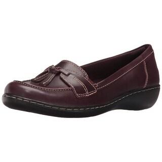 CLARKS Womens Ashland Bubble Closed Toe Loafers