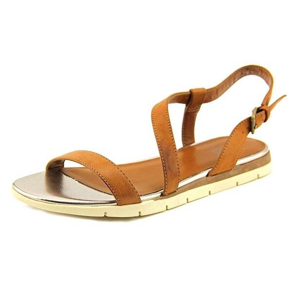 Mia Baseline Open Toe Synthetic Slingback Sandal