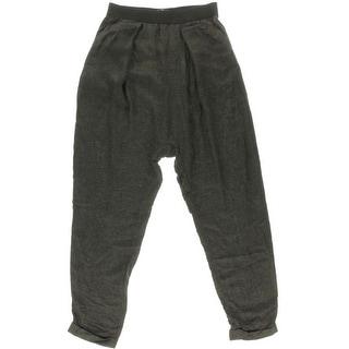 Zara Trafaluc Womens Contrast Trim Flat Front Casual Pants