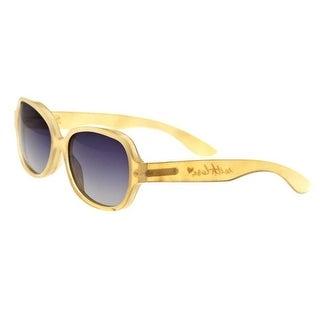 Bertha Sunglasses BRSBR002C Payton Polarized Buffalo Horn Sunglasses
