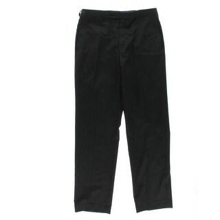 Calvin Klein Mens Wool Slim Fit Dress Pants