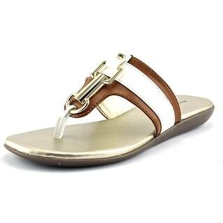 Bandolino Jillian Open Toe Synthetic Thong Sandal