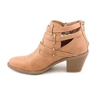 Madden Girl Women's Gossip Natural Paris Boot