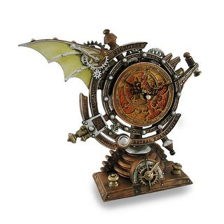 The Stormgrave Celestial Chronometer Steampunk Desk Clock - 8.62 X 10 X 4 inches