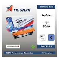 Triumph Remanufactured 504A Toner Cartridge - Cyan Toner Catridge