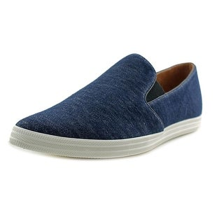 All Black Denim Casual Sneaker Women Round Toe Canvas Blue Loafer