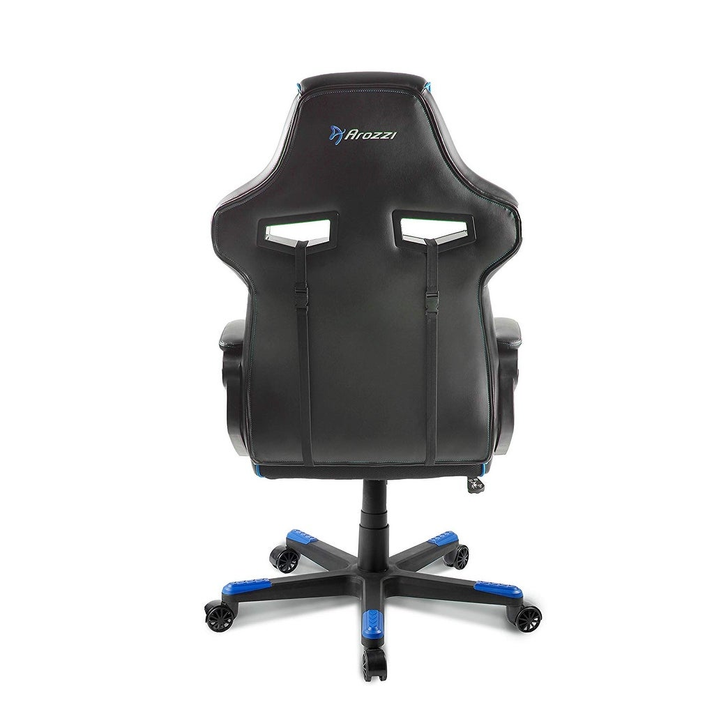 Super Arozzi Milano Bl Enhanced Gaming Chair Blue Pdpeps Interior Chair Design Pdpepsorg