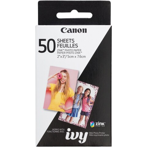 Canon(R) - 3215C001 - 50Ct Zink Photo Paper