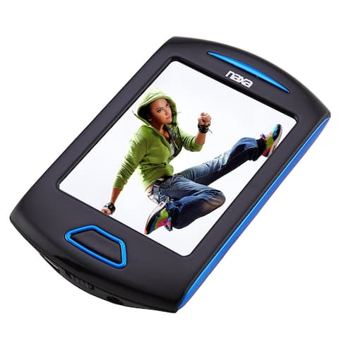 """Portable Media Player with 2.8"""" Touch Screen, Built-in 8GB Flash Memory, Camera, PLL Digital FM Radio,"""
