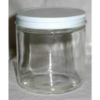 Clear Glass Jar 12 oz