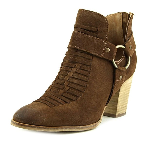Ariat JaElle Round Toe Suede Ankle Boot