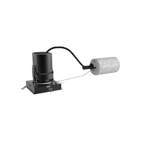 Tech Lighting EN3SR-LO935AAN Entra 3500K LED Square Adjustable Remodel - Black