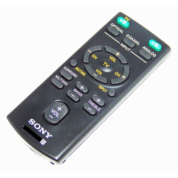 OEM Sony Remote Control Originally Shipped With: HT-CT60, SA-CT60, HTCT60, SACT60