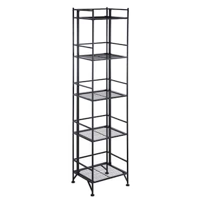 Porch & Den Ferdinand 5-Tier Folding Shelf